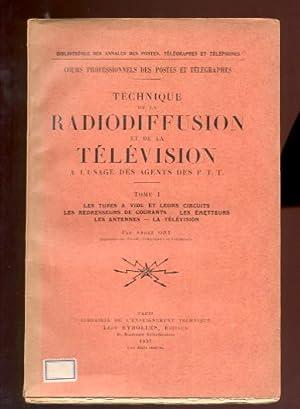 Technique de la radiodiffusion et de la: Ory, André