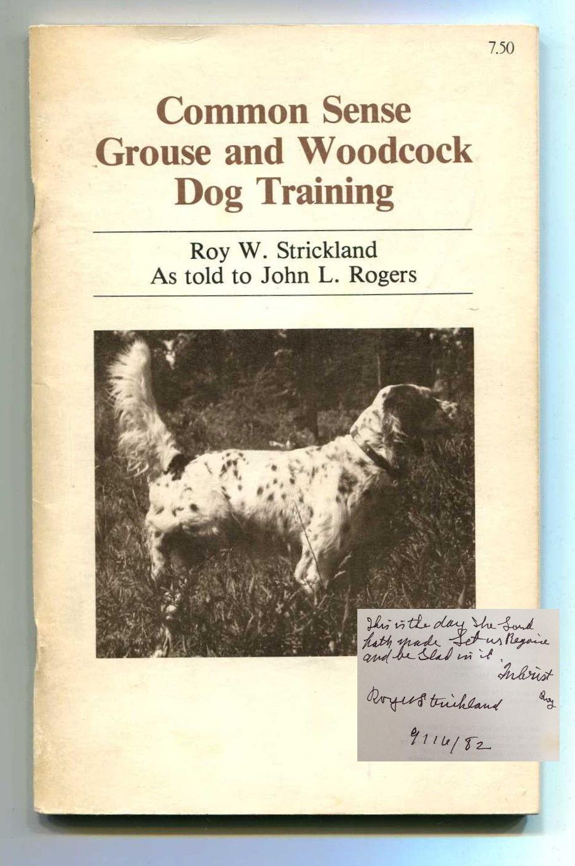 Common Sense Dog Training
