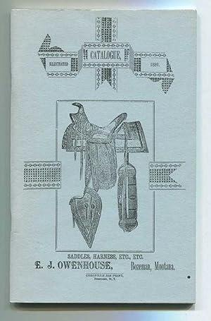 Saddles, Harness, Etc., Etc.: Illustrated Catalogue, 1889: Owenhouse, E.J. and