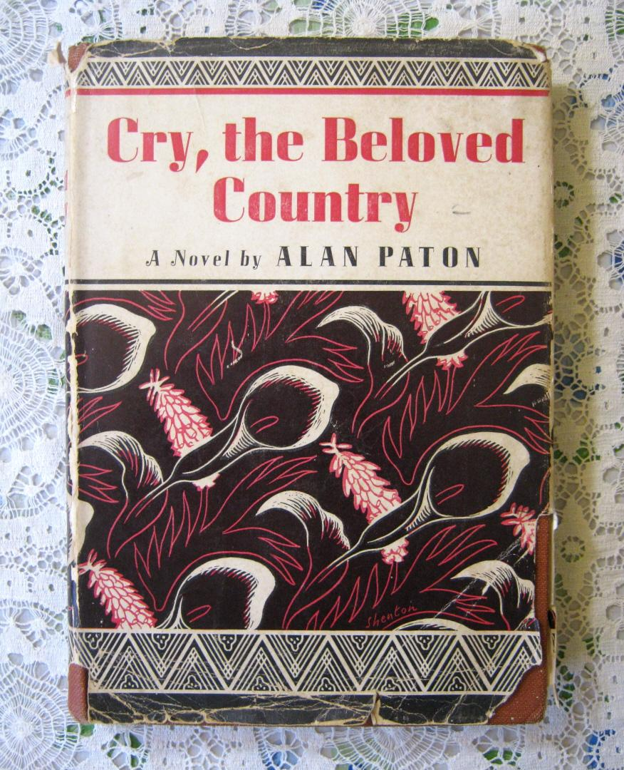 a commentary on alan patons novel cry the beloved country Cry, the beloved country is a novel by alan paton, published in 1948american publisher bennett cerf remarked at that year's meeting of the american booksellers association that there had been only three novels published since the first of the year that were worth reading.