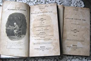 Poems by William Cowper, Esq. of the Inner Temple 2 of 3 Vols: John Johnson, LL. D.