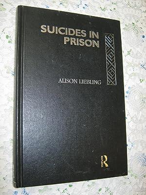 Suicides in Prison: Alison Liebling
