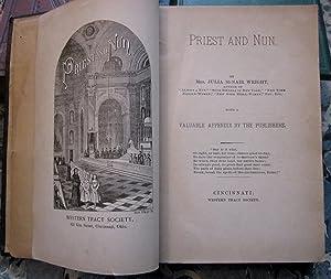 Priest and Nun: Mrs. Julia McNair