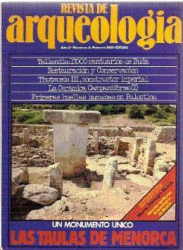 REVISTA DE ARQUEOLOGÍA Nº 4: Varios autores
