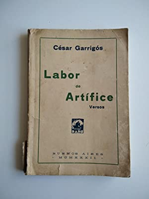LABOR DE ARTÍFICE (Versos)