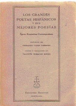 Los grandes poetas hispánicos y sus mejores: Moragas Roger, Valentín