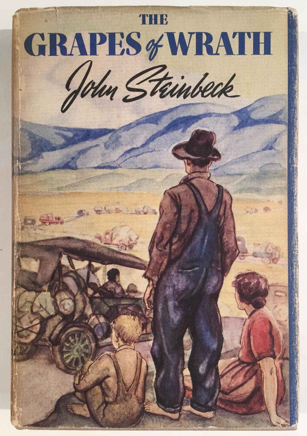 a look at family difficulties in the grapes of wrath by john steinbeck