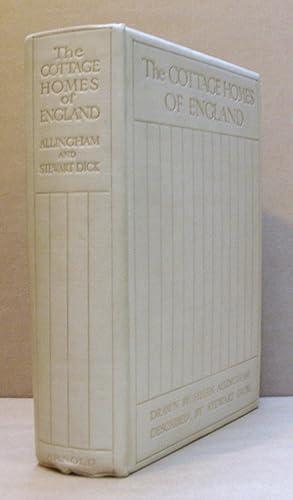 The Cottage Homes of England.: ALLINGHAM, Helen (illustrates).