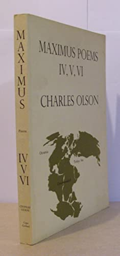 Maximus Poems IV, V, VI.: OLSON, Charles.