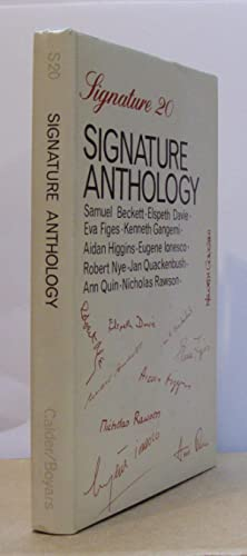 The Signature Anthology.: BECKETT, Samuel (contributes).