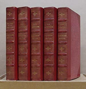 "A Complete Set of ""The Leatherstocking Tales"": COOPER, James Fennimore."