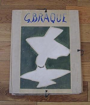 Espaces - 13 Dessins, Lavis, Aquarelles.: BRAQUE, Georges.