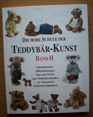 hohe schule teddybär kunst schnittmuster nähanleitungen von jürgen ...
