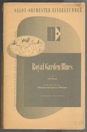 Royal garden blues. Musik und engl. Text: Mayer, Henry [Bearb.]: