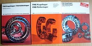 FAG Kugellager Rollenlager - Liste 70200 -: FAG Kugelfischer Georg