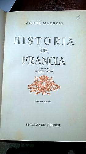 Historia De Francia: MAUROIS, Andre