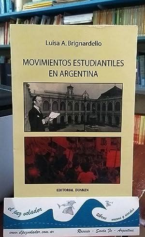 Movimientos Estudiantiles En Argentina: Brignardello Luisa
