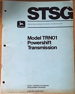 Model TRN01. Powershift Transmission.