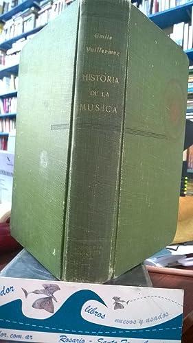 Historia De La Música: VUILLERMOZ, Emile