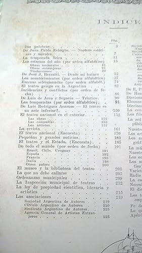 ANUARIO TEATRAL ARGENTINO 1924-1925