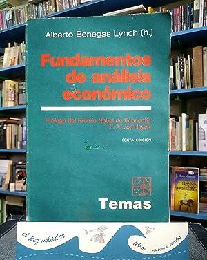 Fundamentos De Análisis Económico: Benegas Lynch Alberto