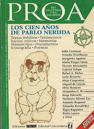 Los cien años de Pablo Neruda- Proa