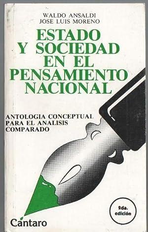 Estado y Sociedad En El Pensamiento Nacional. Antología Conceptual Para El Análisis ...