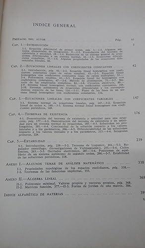 Ecuaciones Diferenciales Ordinarias.: PONTRIAGUIN, L. S.