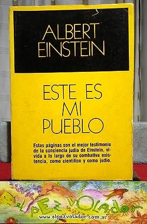 Este Es Mi Pueblo: EINSTEIN, Albert