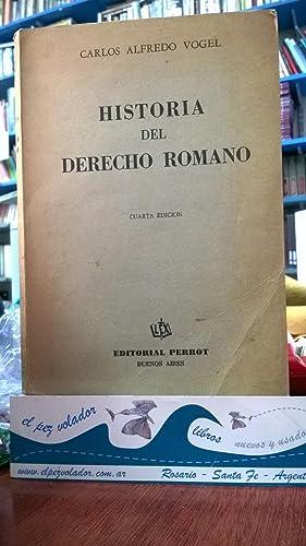Historia del derecho Romano: VOGEL Carlos Alfredo