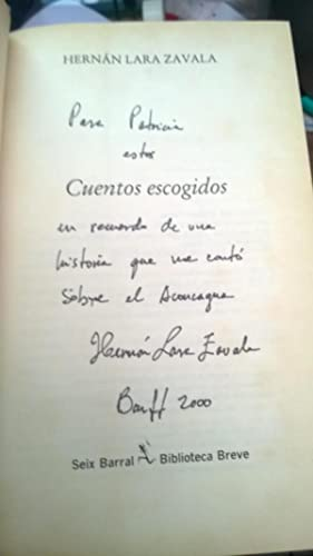 Cuentos Escogidos: LARA ZAVALA, Hernán