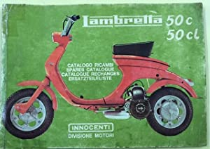 Lambretta 50 c 50 Cl Catalogo Ricambi Spares Catalogue Catalogue Rechanges Ersatzteileliste