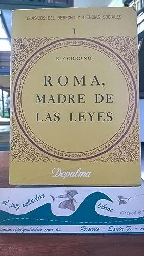 Roma, madre de las Leyes: Riccobono