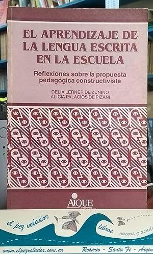 El aprendizaje de la lengua escrita en: Lerner de Zunino-