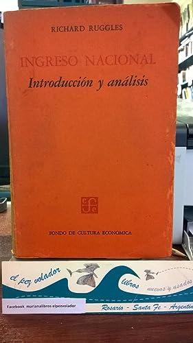 Ingreso nacional. Introducción y Análisis: Ruggles, Richard