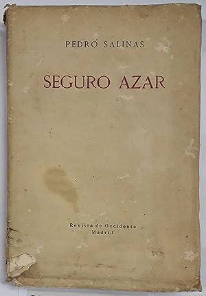 SEGURO AZAR 1924-1928: SALINAS, Pedro