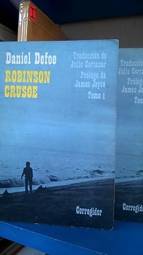 Robinson Crusoe (2 Tomos) Traducción Julio Cortázar.: Defoe Daniel