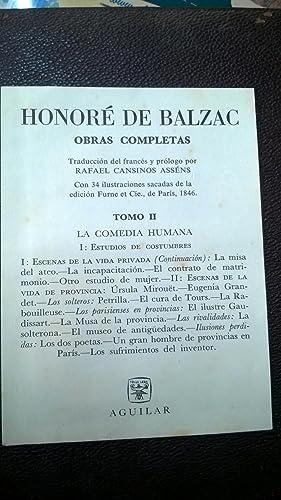 Obras Completas II: Balzac Honoré de