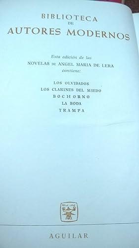 Novelas (I): De Lera Angel María
