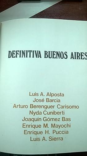 Definitiva Buenos Aires (lunfardo): Puccia, Enrique H (comp.)