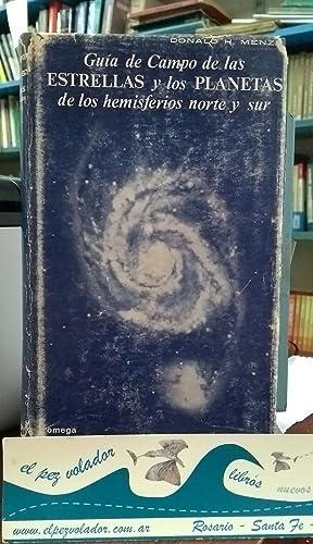 Guía de campo de las estrellas y los planetas de los hemisferios Norte y Sur: Menzel Donald