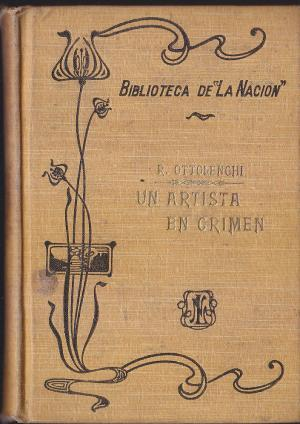 Un artista en Crimen: Ottolenghi R.