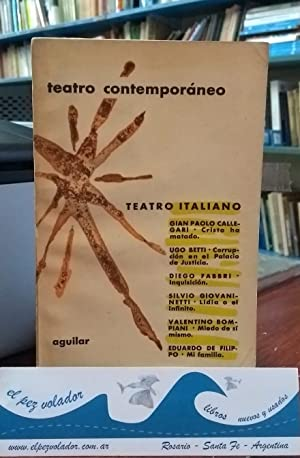 Teatro Italiano Contemporáneo