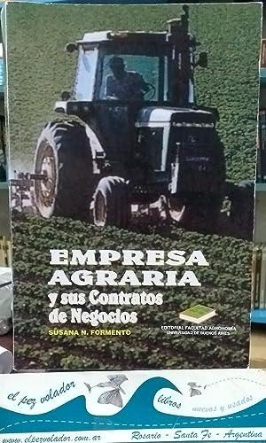EMPRESA AGRARIA y sus contratos de Negocios: Formento Susana