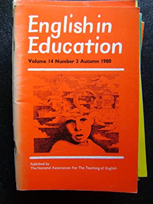 English in Education vol 14 No 3: Torbe, Mike (ed),