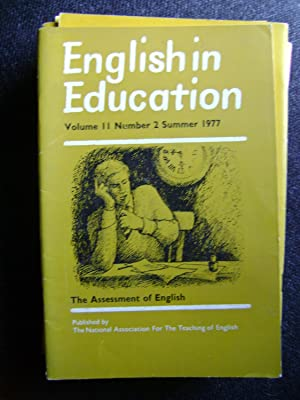 English in Education vol 11 No 2: Protherhough, Robert (ed),