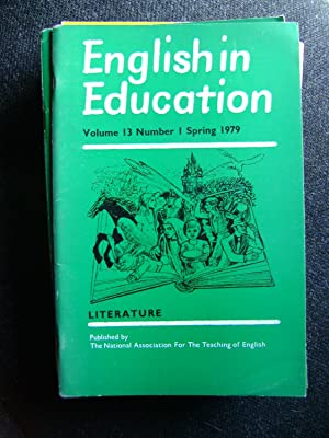 English in Education vol 13 No 1: Torbe, Mike (ed.),