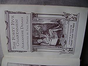 The Forty-Five Guardsmen (Collins Clear-Type Press): Alexandre Dumas