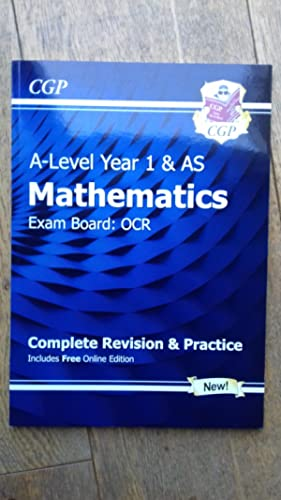 9781782948063: New A-Level Maths for OCR: Year 1 & AS Complete