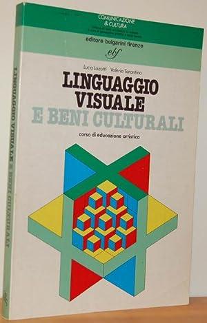 LINGUAGGIO VISUALE E BENI CULTURALI. Corso di: LUCIA LAZOTTI, VALERIA